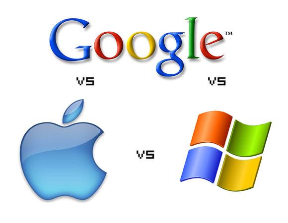 Apple, Microsoft e Google_cosa bolle in pentola per il 2012.techeconomy
