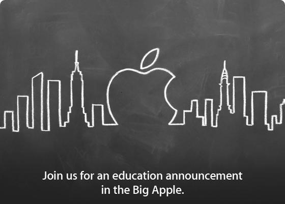 """Apple_ il 19 a New York un """"education announcement""""_techeconomy"""
