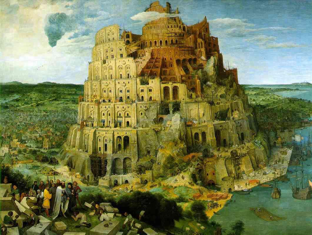 La Torre di Babele di Breugel