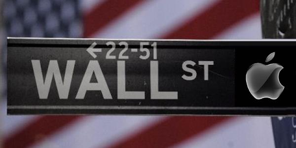 Apple Wall Street