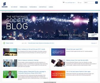 Ericsson presenta importanti innovazioni su reti, video e TV