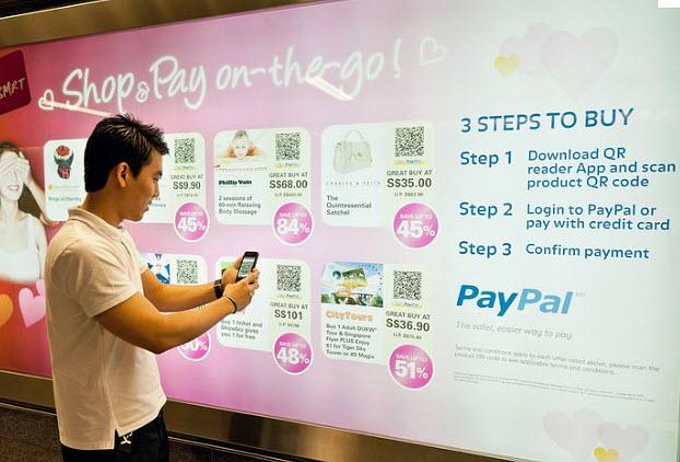 PayPal e l'esperienza del mobile shopping diffuso.techeconomy