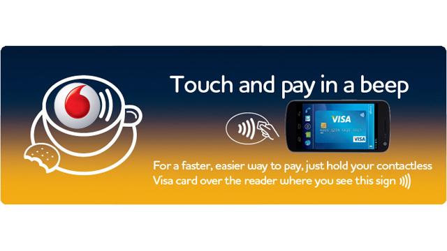 Vodafone e Visa: nuovo sistema di pagamento mobile.techeconomy