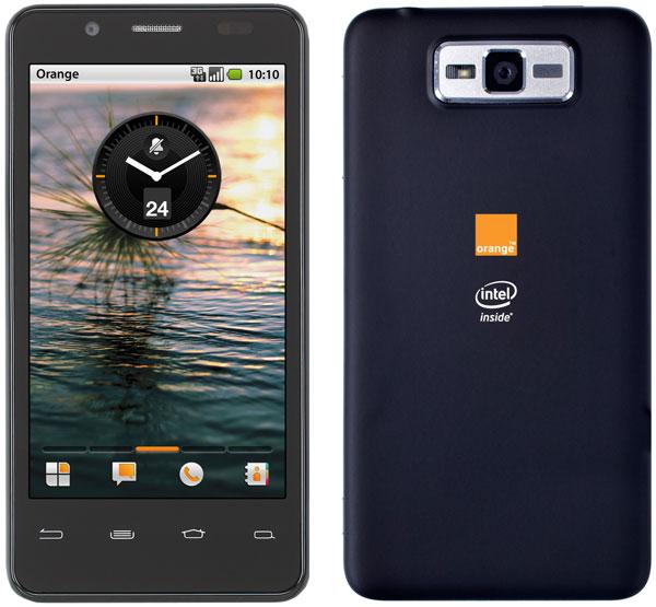 E' Orange - Intel il primo smartphone europeo Intel Medfield.techeocnomy