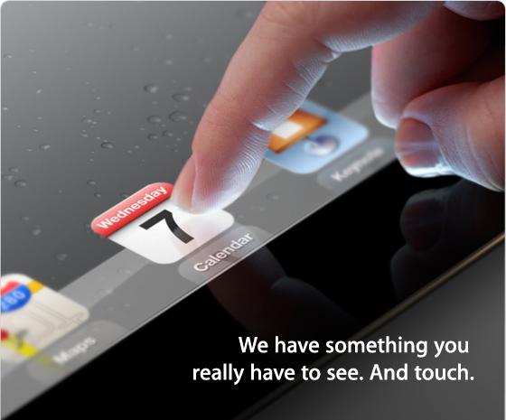 Apple: è ufficiale il 7 marzo sarà il giorno dell'iPad 3 .techeconomy