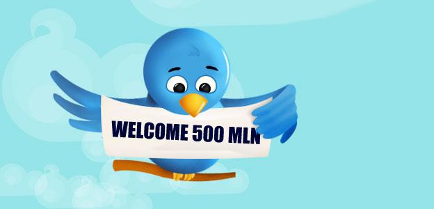 Twitter 230 milioni di utenti attivi e 500 milioni di tweets creati ogni giorno