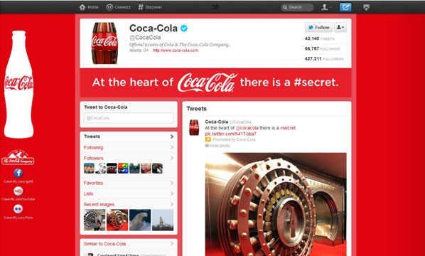 coca-cola-twitter-brand-page
