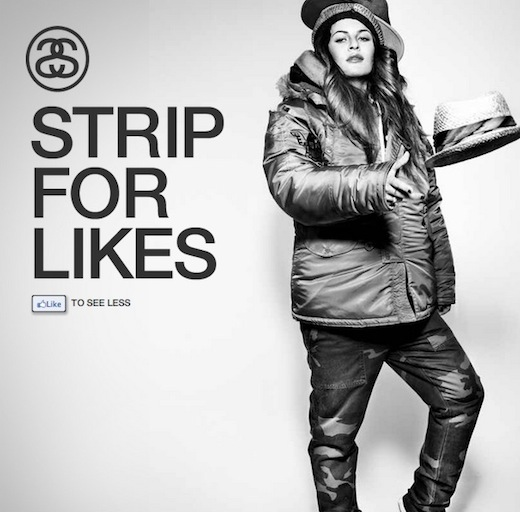 Strip for Likes
