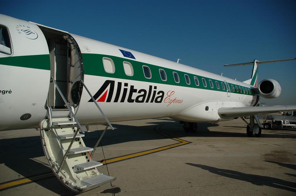 Alitalia - FCO Rome Fiumicino Airport