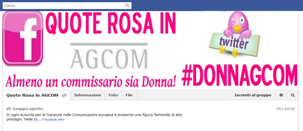 Quote Rosa in Agcom