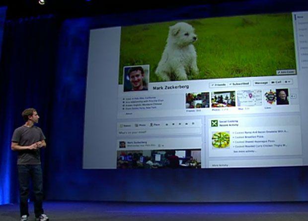 mark zuckerberg - Facebook Timeline