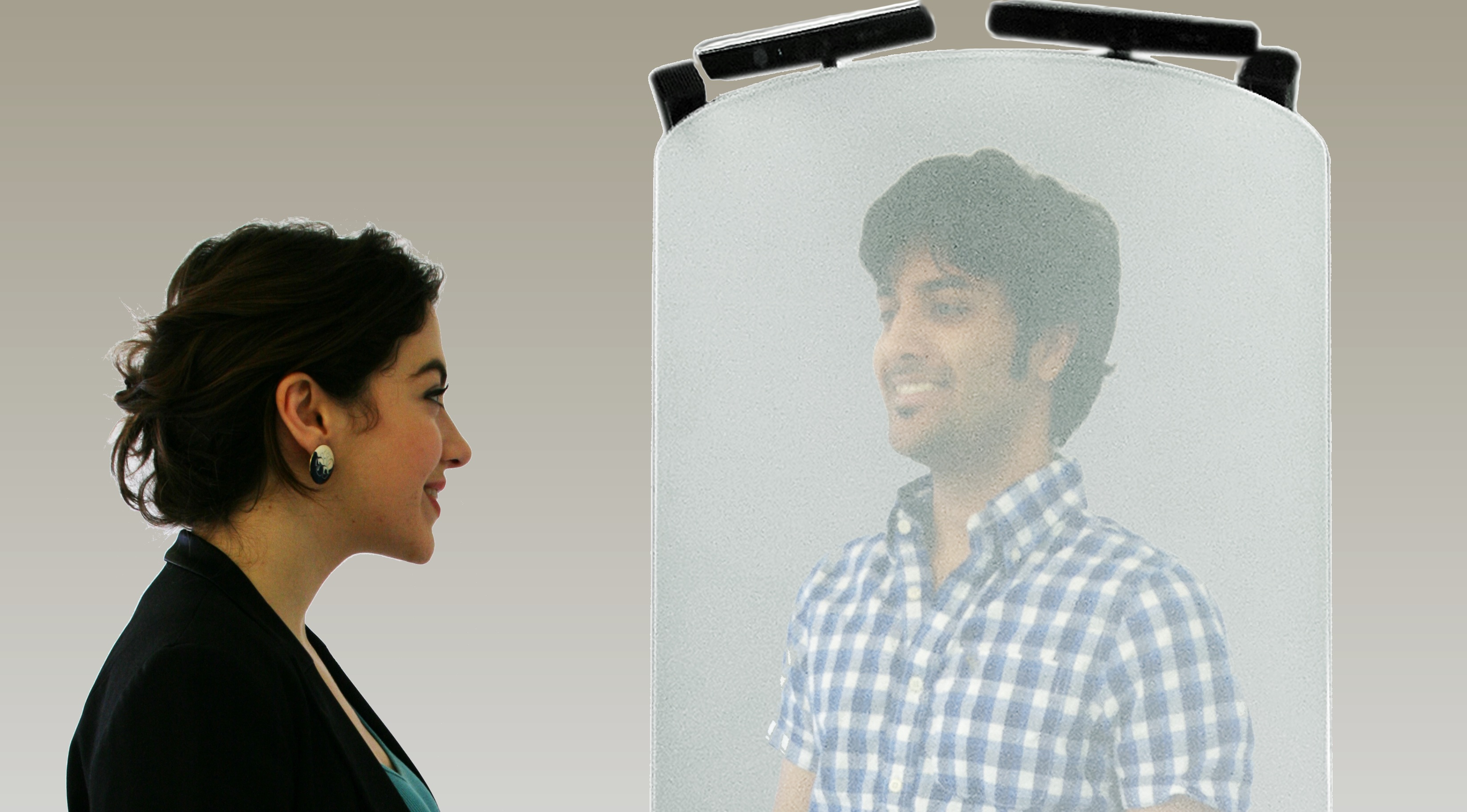 telehuman: video comunicazioni olografiche 3D