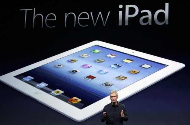 APTOPIX Apple iPad