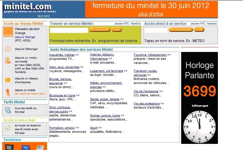 MINITEL WEB