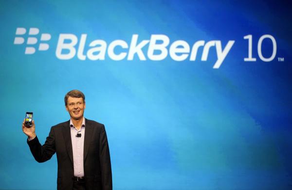 Blackberry nel secondo trimestre ricavi in rosso