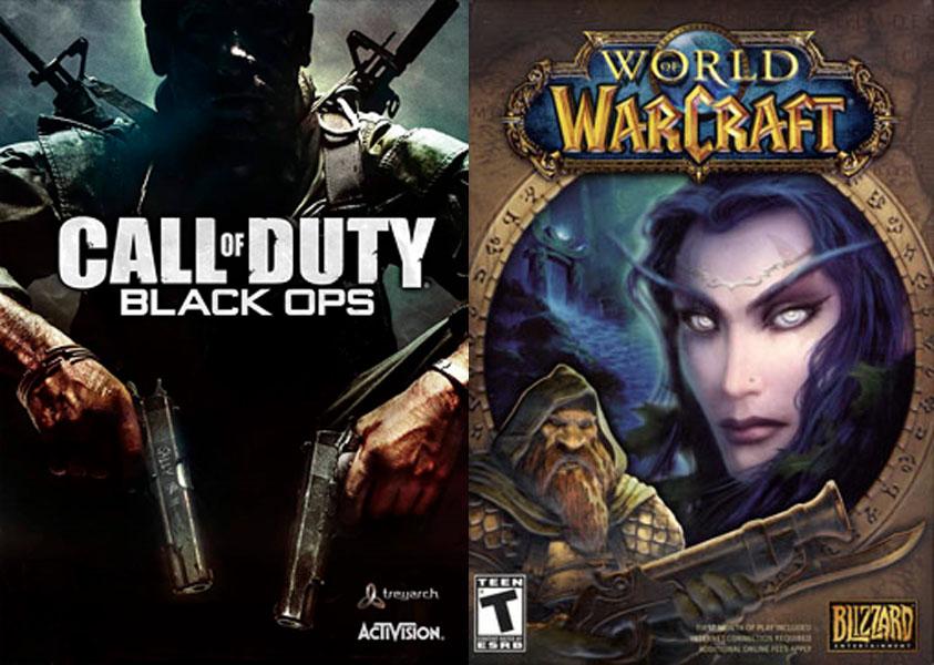 Call of Duty e World of Warcraft