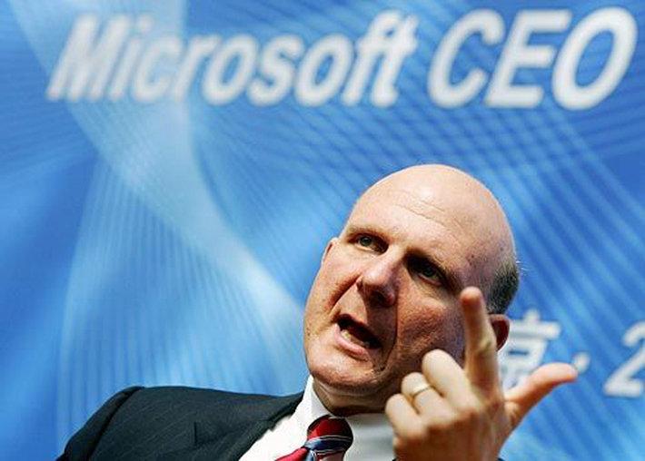 Microsoft: Steve Ballmer riorganizza la società