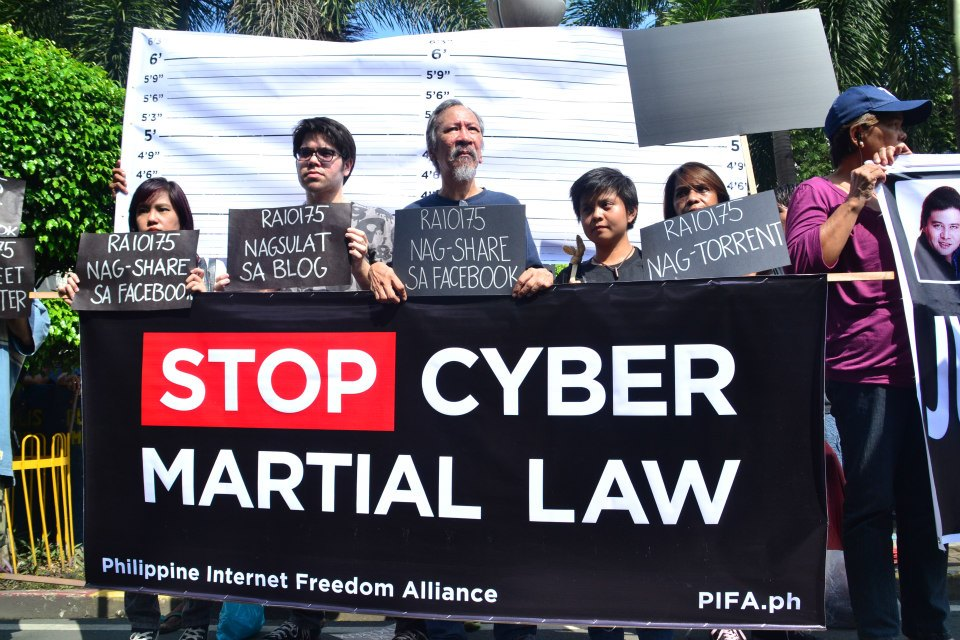 stop cyber martial law Filippine