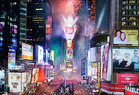 Pubblicità a Times Square