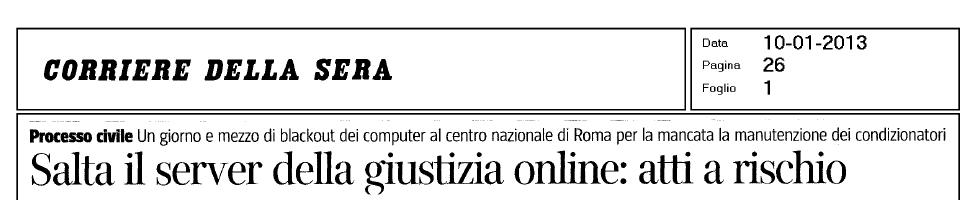 Giustizia online