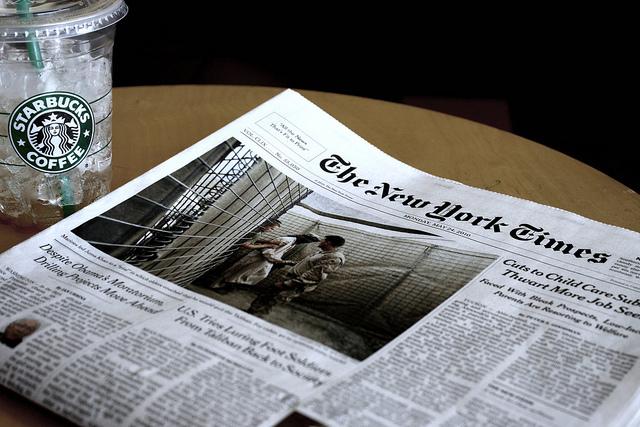 starbucks new york times