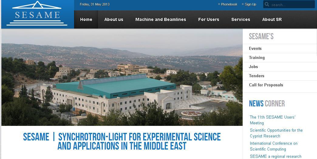 Sesame: Europa e Cern insieme per la ricerca in Medio Oriente