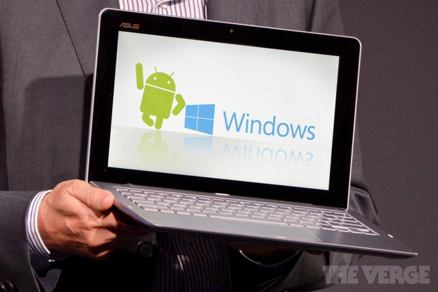 Asus lancia il computer ibrido: supporterà Android e Windows