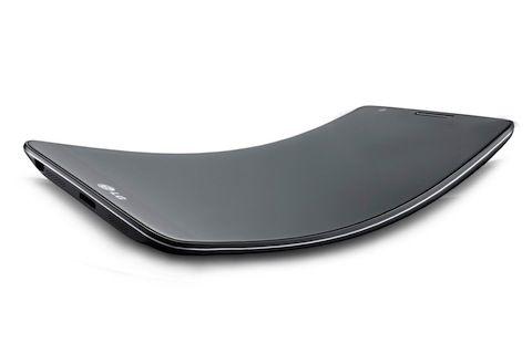 LG G Flex: lo smartphone con display curvo