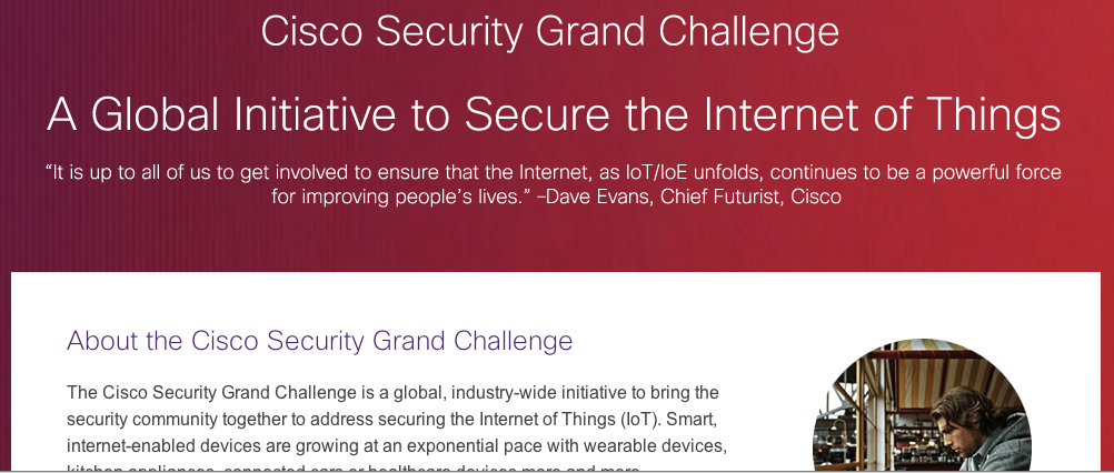 Cisco_'Internet of Things Security Grand Challenge