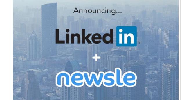 Linkedin e Newsle