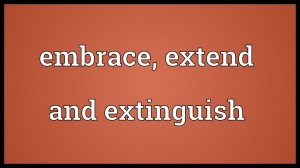 Embrace Extend Extinguish