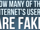 "Quanti sono gli account ""fake"" su internet e social media? #Infografica"