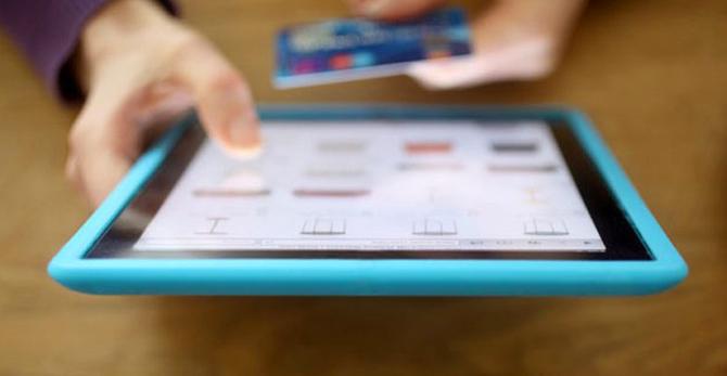 Copertina mobile commerce