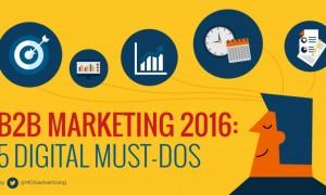 B2B_Marketing_2016__5_Digital_Must_Dos__Infographic____Social_Media_Today