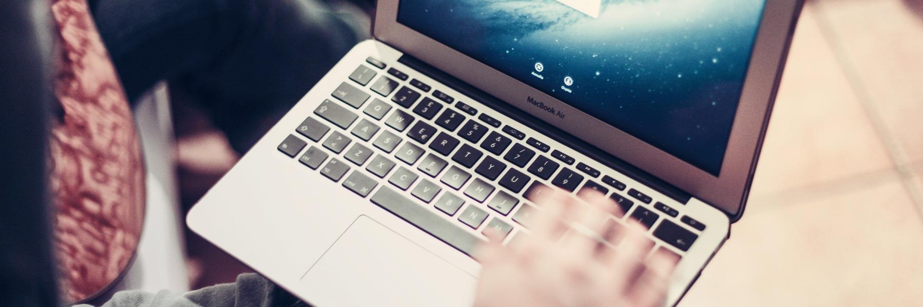 persona al computer