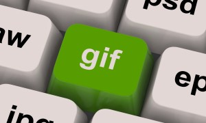 Gif Key Showing Image Format For Internet Pictures