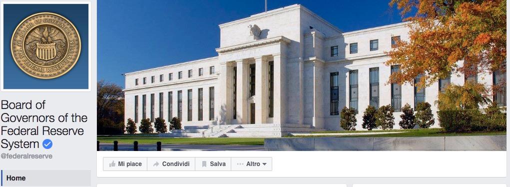 federal reserve facebook