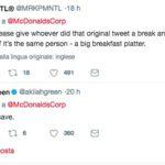 mcdonald black friday tweet