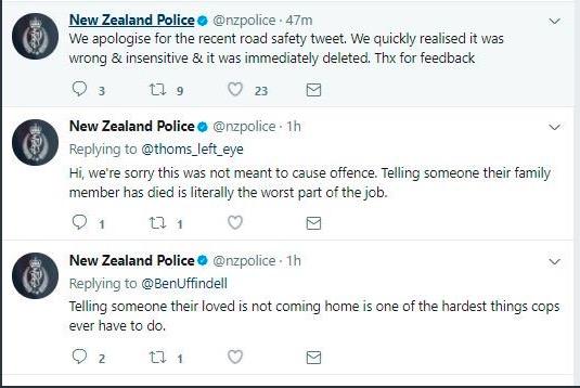 Polizia nuova zelanda meme incidente