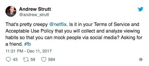 netflix privacy twitter