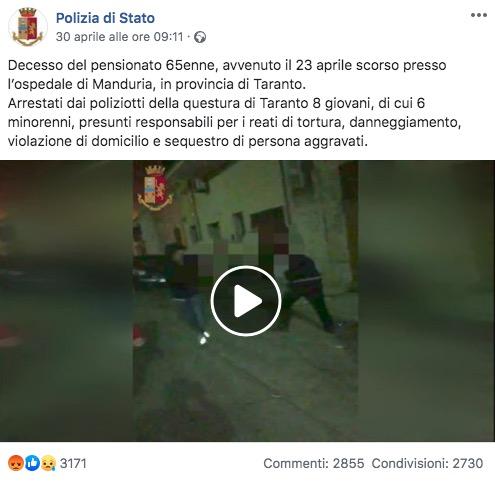 polizia di stato facebook